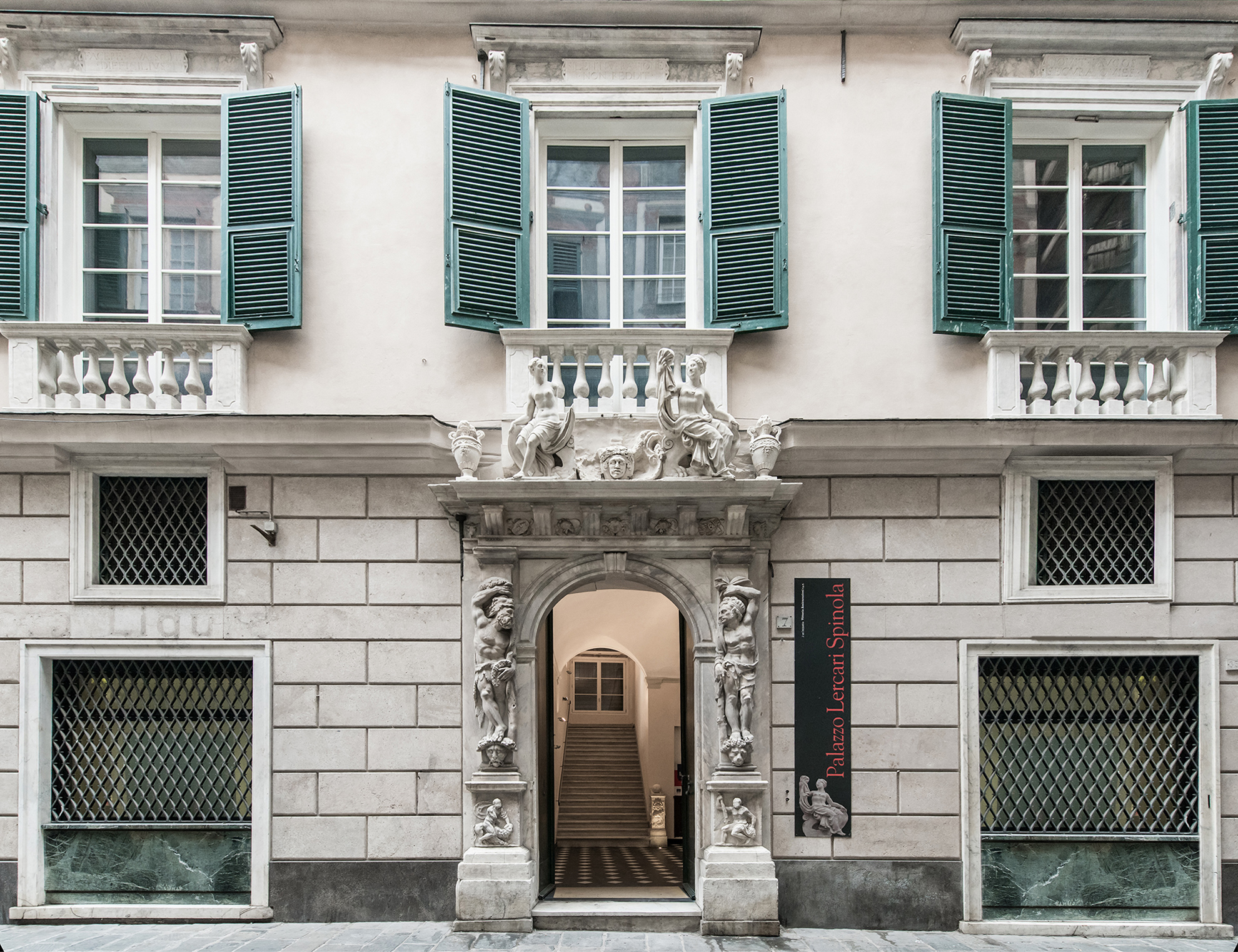 Palazzo Lercari Spinola. <br>A rarity, in the heart of Genoa.
