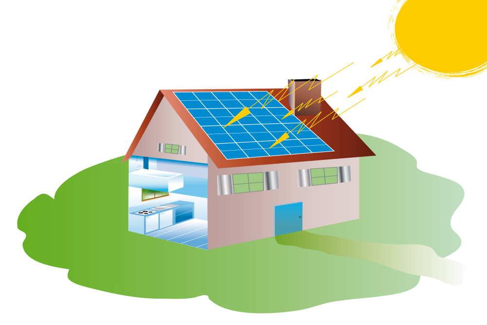 energia rinnovabile, pannelli fotovoltaici, efficientamento energetico, casa green