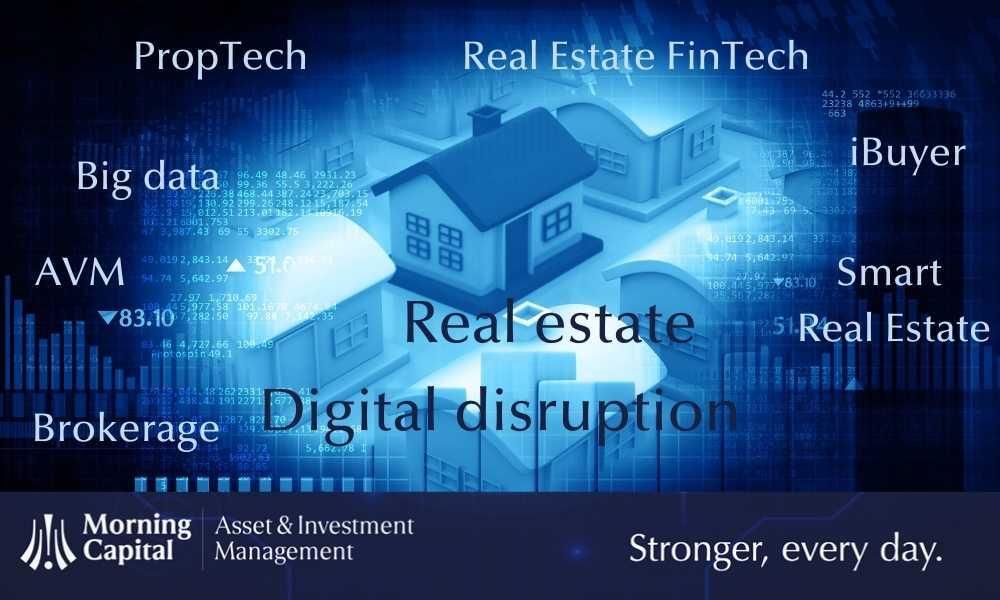 Real estate: la digital disruption avanza con bigdata, IoT, blockchain…