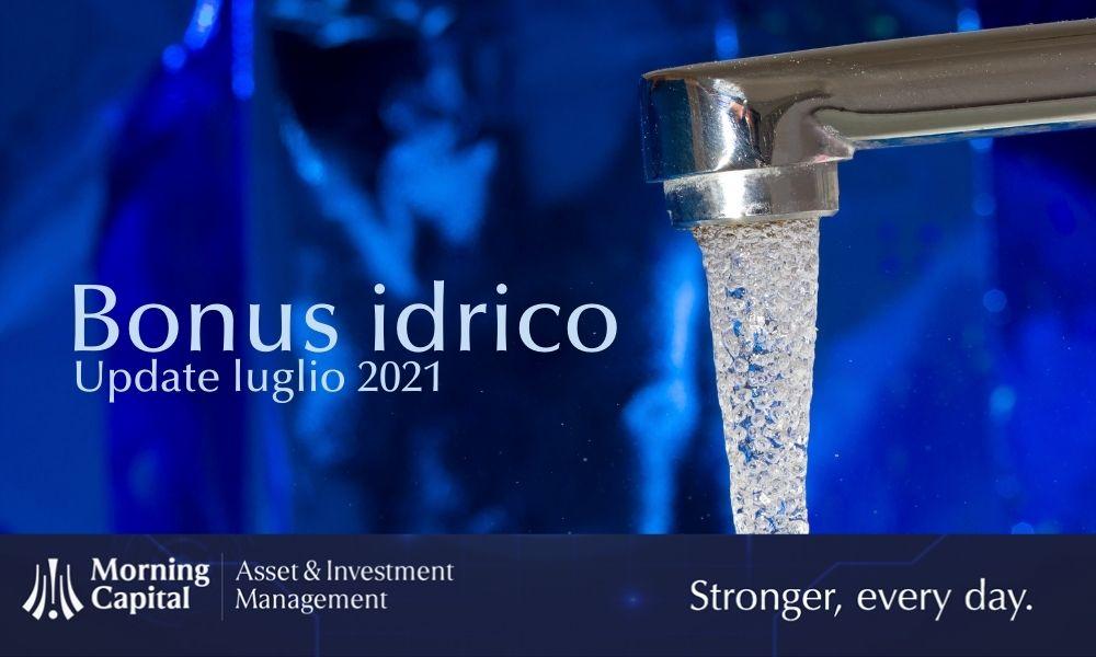 Bonus per l'uso consapevole dell'acqua: per ora attuazione solo parziale